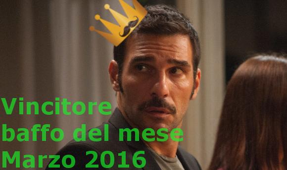 Edoardo Leo vincitore baffo del mese 2016