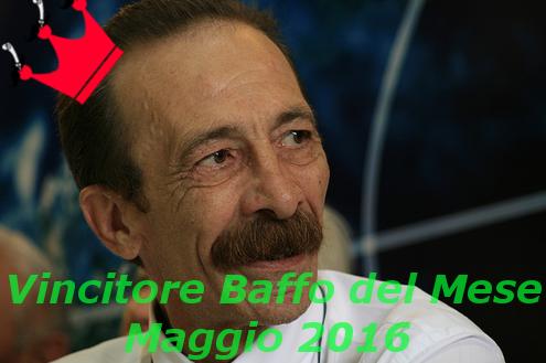 Pino Maniaci Vincitore Baffo del Mese 2016
