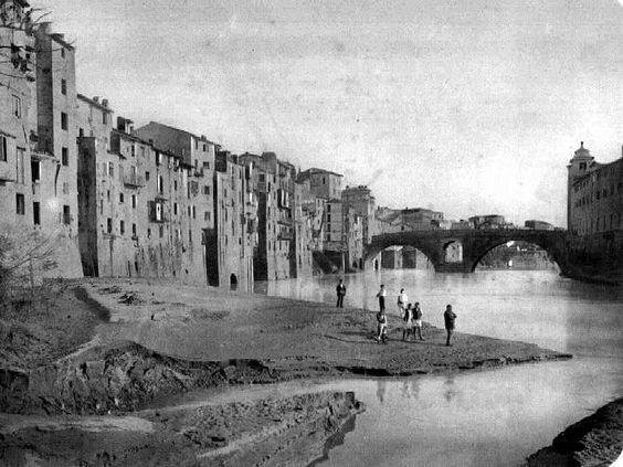 roma prima dei muraglioni del lungotevere