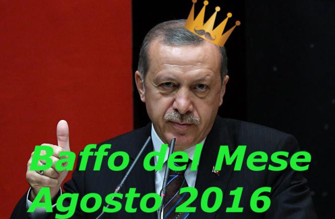 Erdogan baffo del mese Agosto 2016