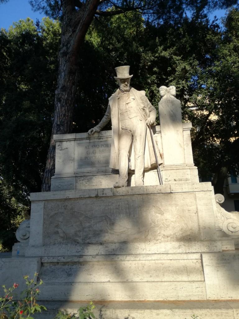 Monumento Giuseppe Gioachino Belli