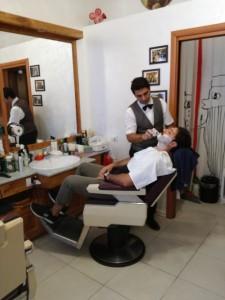 Enrico il barbiere favorito