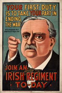 john-redmond-british-army-recruitment-poster