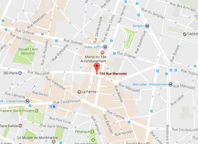 104 rue Marcadet