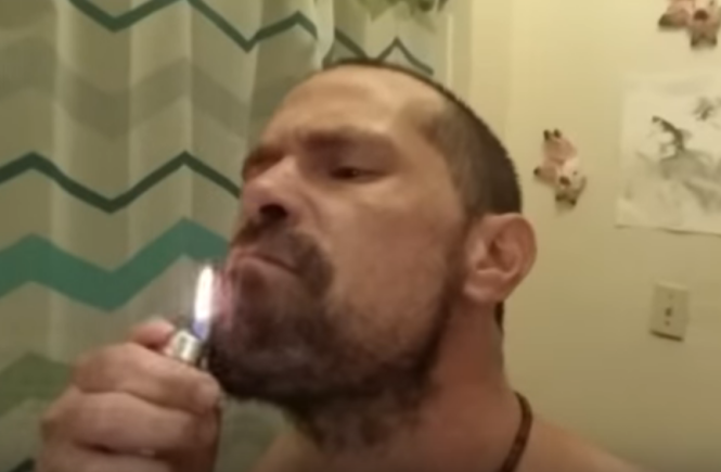 Fuoco barba