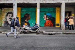 Via Giolitti Murales