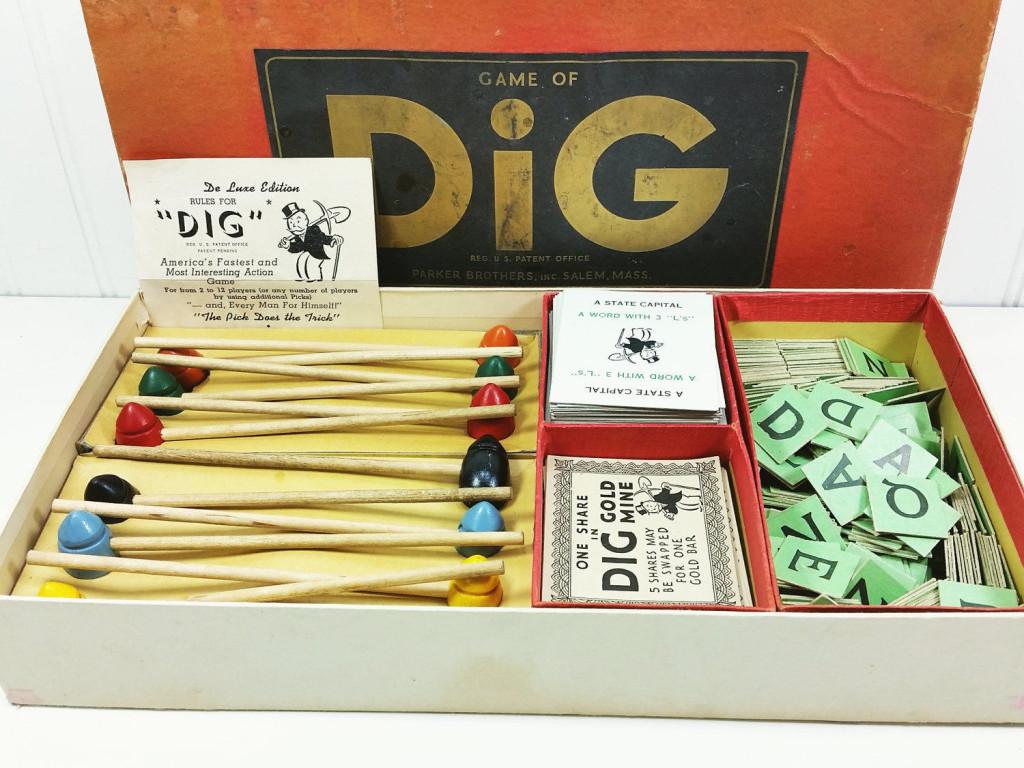 Dig game 1940
