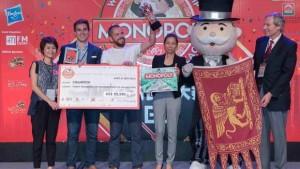 Nicolò Falcone premiato ai Mondiali di Monopoly