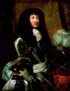 Il baffetto à la Royale di Luigi XIV